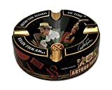 Limited Edition Large 8.75'' Arturo Fuente Porcelain Cigar Ashtray Black