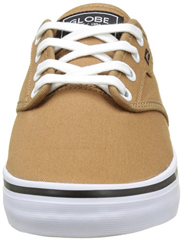 Motley Uomo Globe Braun Sneaker Latte gAdSdqw