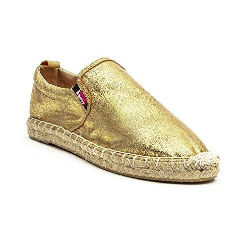 Superdry Ashley Espadrille Femme Chaussures Gold