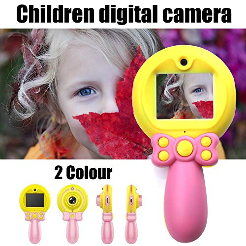 Kids Camera for Girls or Boys, Mini Rechargeable Children's Self-timer 1080P HD Digital Kids Camcorders Camera with 2-Inch Screen Display, Camera Toys for 3-10 Year Old Girls Birthday Gifts (Pink)