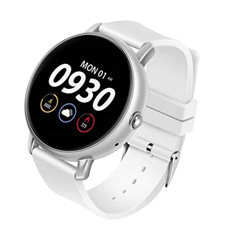 Amazon.com: QUARKJK Smart Watch Heart Rate Monitor Fitness ...