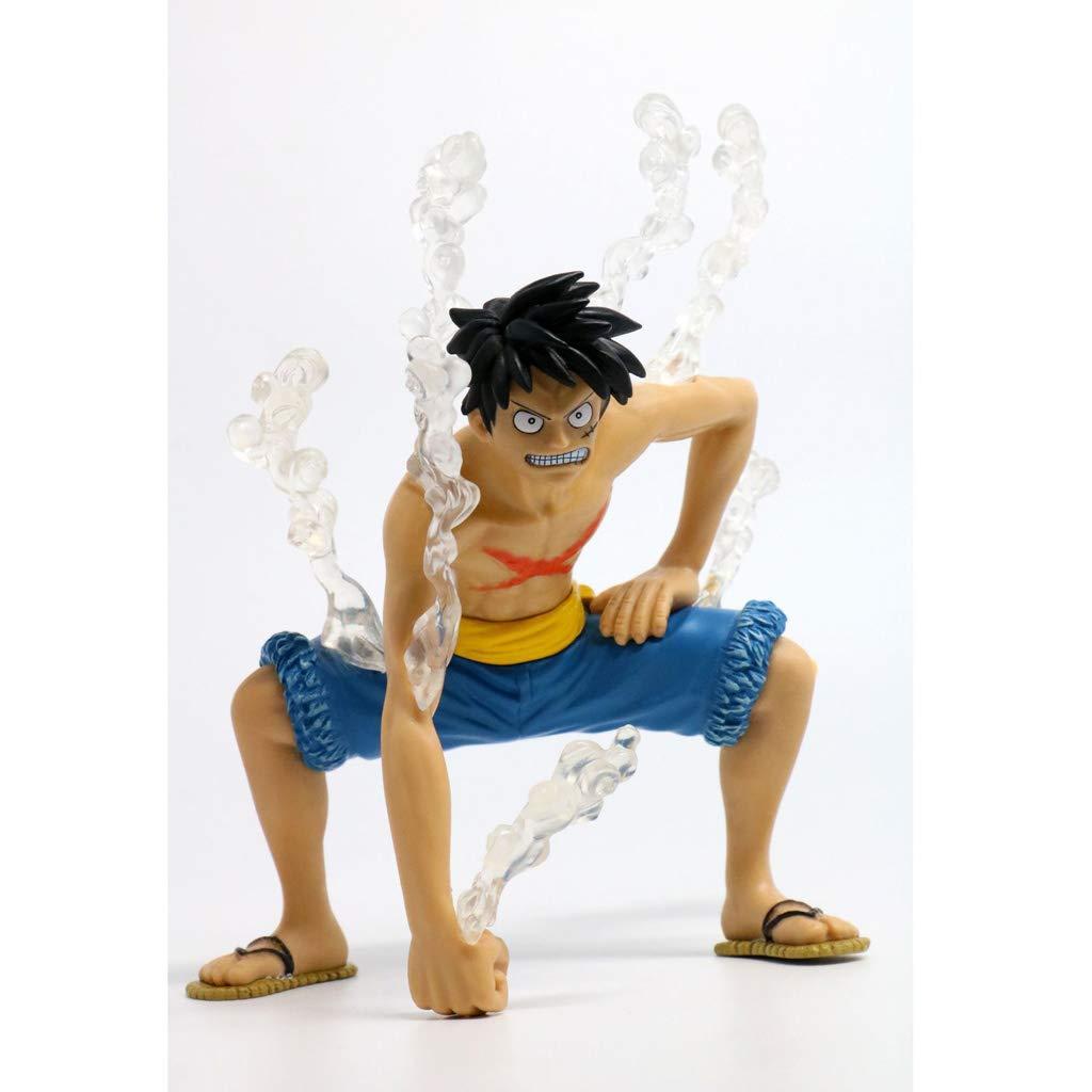 toma Azul WSWJJXB Piratas Rey náutico Lufei Modelos de Anime Hechos Hechos Hechos a Mano Souvenirs colección artesanía (Color   Azul)  gran selección y entrega rápida