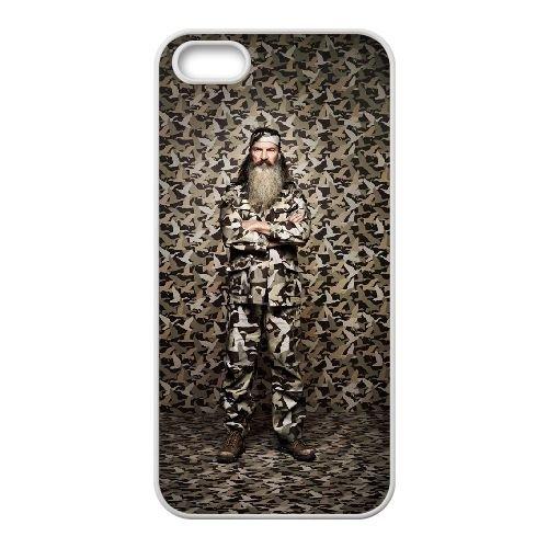 C4L88 Happy Happy Heureux Camouflage Dynasty Duck N5R4GI coque iPhone 4 4s cellulaire cas de téléphone de couverture coque KW1DDQ1PS blancs