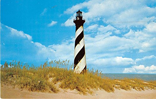 Buxton North Carolina Cape Hatteras Lighthouse General View Vintage PC ()