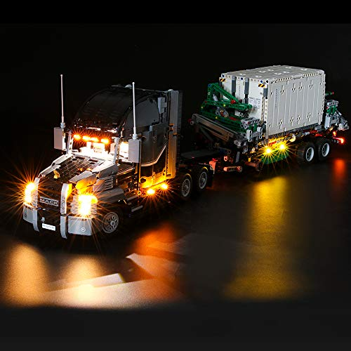 Briksmax Led Lighting Kit for Technic Mack Anthem - Compatible with Lego 42078 Building Blocks Model- Not Include The Lego Set