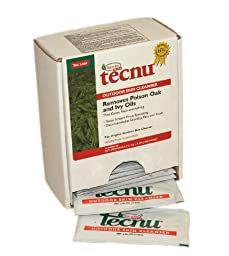 Pac-Kit by First Aid Only POIC50BX Tecnu Oak-N-Ivy Cleanser (Box of 50)