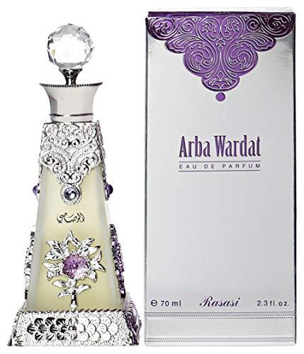 Price comparison product image Rasasi Arba Wardat for Women EDP - Eau De Parfum 70 ML (2.4 oz)