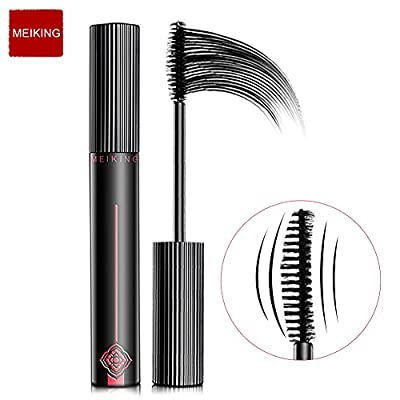 MEIKING Black Lasting Waterproof 3D Extension Natural Fiber Lashes Mascara