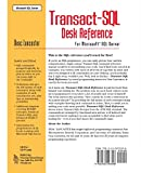 Transact-SQL Desk Reference: For Microsoft SQL