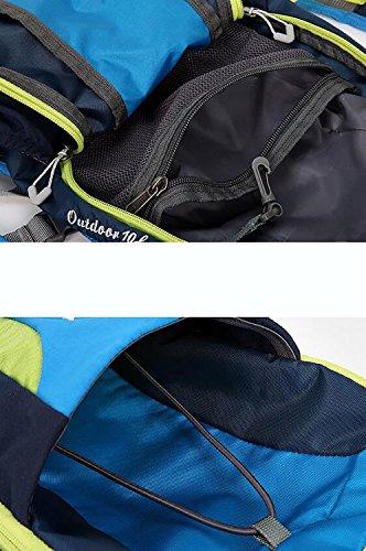 HWLXBB Outdoor Bergsteigen Tasche Männer und Frauen Leicht Mehrzweck Bergsteigen Tasche Wandern Camping Reisen Bergsteigen Rucksack