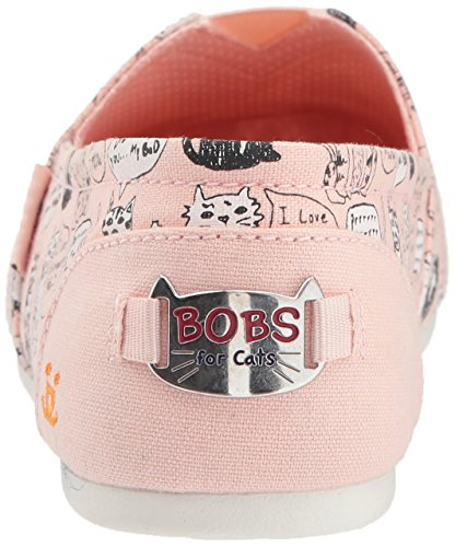 Bobs From Skechers Womens Bobs Plush-cat Attack Flat Light Pink
