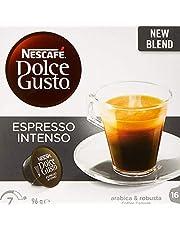 NESCAFÉ Dolce Gusto Espresso Intenso Coffee Pods, 16 Capsules (16 Serves) 96g