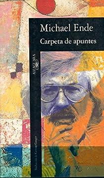 CARPETA DE APUNTES par Michael Ende
