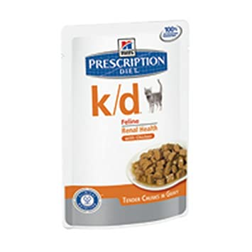 HILLS PRESCRIPTION DIET La bolsa de Cat K / D Gato mojado ...