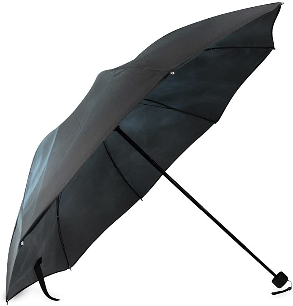Folding Umbrella Rainproof /& Windprrof Umbrella Smoke Custom Umbrella Automatic