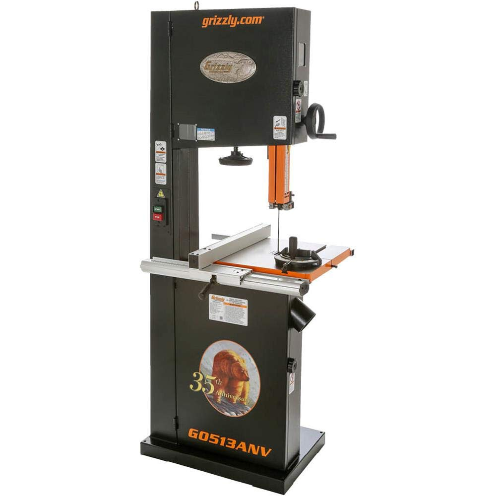 Grizzly G0513ANV 2 HP Bandsaw Anniversary Edition, 17-Inch by Grizzly (Image #9)