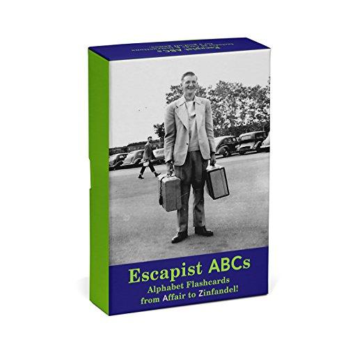 Knock Knock Escapist ABCs Alphabet Flashcards: From Affair to Zinfandel!