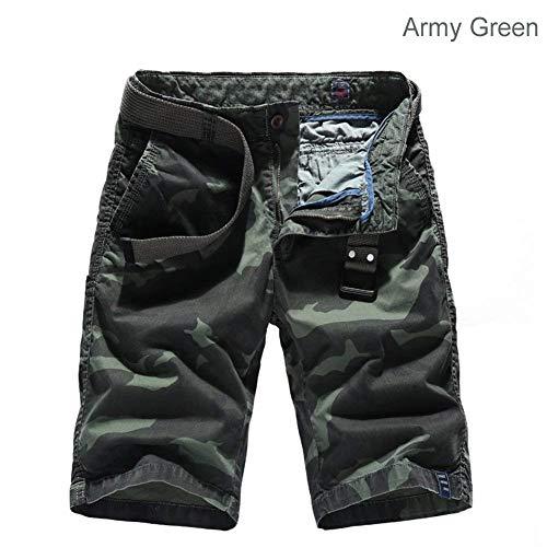 D'été Lannister Fête Armeegrün Fashion Cargo Pour Plage Court 3 Vêtements Camouflage Pantalon Homme De USTqxU7