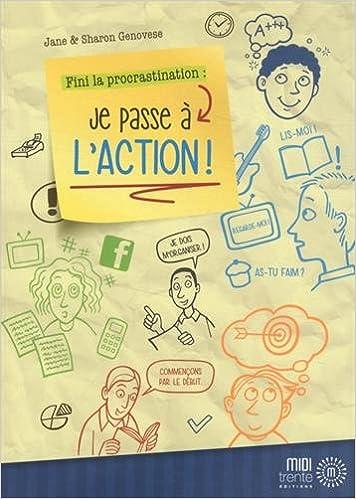Livres Fini la procrastination : je passe à l'action ! pdf, epub ebook