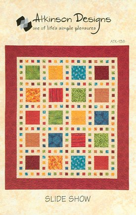 Slide Show Quilt Pattern By Atkinson Designs