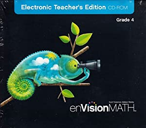 MATH 2009 SPANISH DIGITAL TEACHER EDITION CD-ROM GRADE 4 Scott Foresman