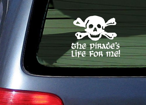 Pirates Life Me Sticker Skull product image