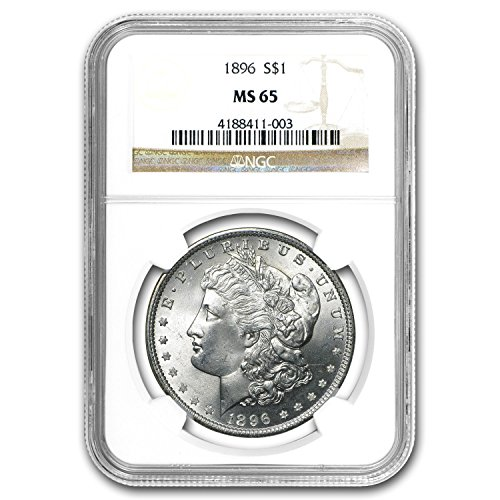 1896 Morgan Dollar MS-65 NGC $1 MS-65 NGC