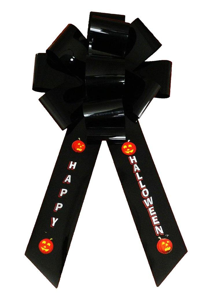 Faerynicethings Door Decorative Big Bow - Happy Halloween