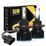 Best Hid Kits - Simdevanma H13/9008 Led Headlight Bulbs Conversion Kit, light/low Review