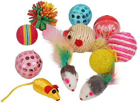 Fashion's Talk Cat Toys Variety Pack for Kitty 20 Pieces 4