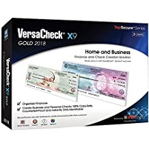 VersaCheck X9 Gold 2018 - 3 Users - Finance & Check Creation Software