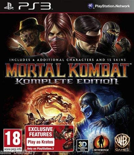 Mortal Kombat 9 Komplete Complete Edition Uncut Version By