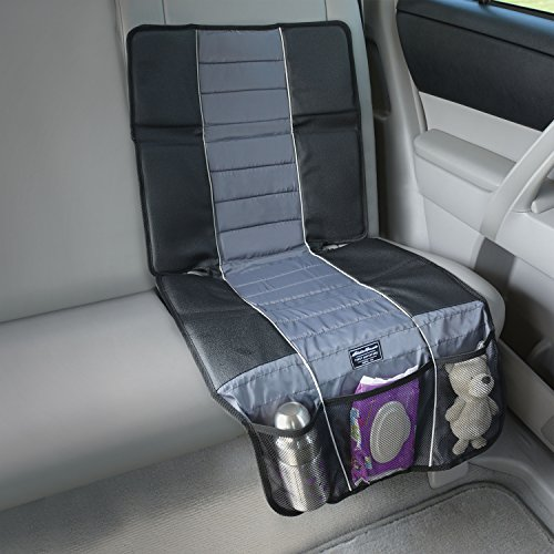 Best Deals! Eddie Bauer Universal High Back Car Seat Protector, Black & Grey