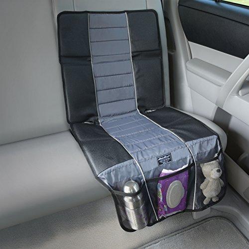 Eddie Bauer Universal High Back Car Seat Protector, Black & Grey