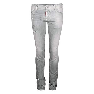 DSquared2 Slim Jean Dsquared D2 Herren Jeans Grau  Amazon.de  Bekleidung fea5b6f6ad23