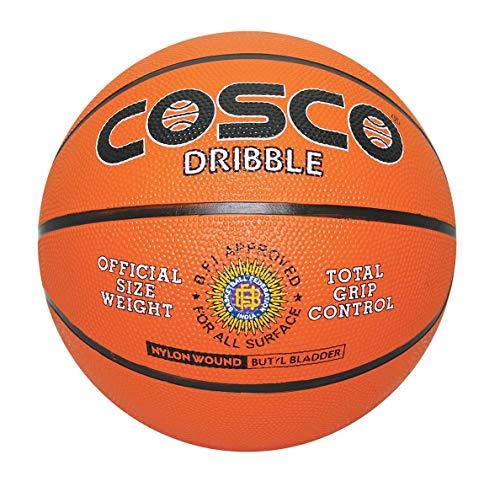 Cosco Basketball Dribble   Size 5, Orange