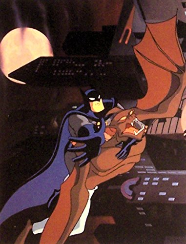Batman The Animated Series Litho Print Sold Out Edition DC Comics #8
