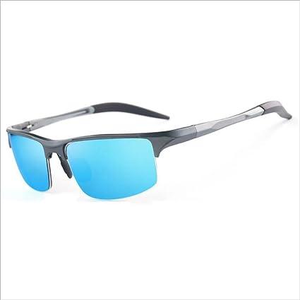 QZ HOME Gafas de Sol con luz polarizada de Uso Dual para el Día y la