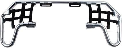Tusk Comp Series Nerf Bars Silver With Black Webbing Honda TRX 400EX 400X 1999-2009
