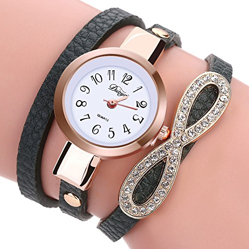 New Fashion Watch Women Luxury Leather Bracelet Watch Women Dress Casual Classic Quartz - Women Prada Watch