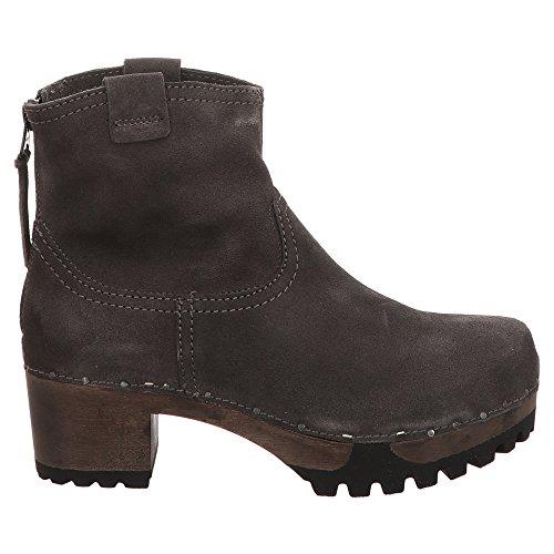 Stiefeletten S3354 anthrazit Softclox Schuhe Damen 20 INKEN xARRCHwq