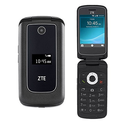 ZTE Cymbal Z-320 Flip Phone UNLOCKED (T-Mobile) (Renewed)