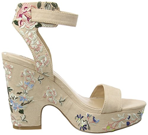 alla Multi Caviglia con Multi Miss Sandali Multicolore Embroidered Selfridge Donna Cinturino XZwxfFBxq