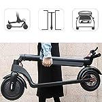 HAOYF-E-Scooter-Teenager-degli-Adulti-Monopattino-Elettrico-250W-per-Progettazione-Piegante-di-et-14-Facile-da-Trasportare-Carico-Massimo-100Kg