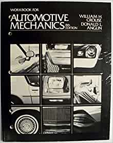 AUTOMOTIVE MECHANICS BY CROUSE AND ANGLIN PDF