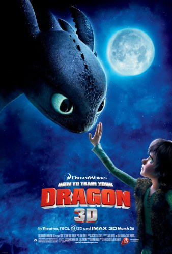 how to train your dragon posters