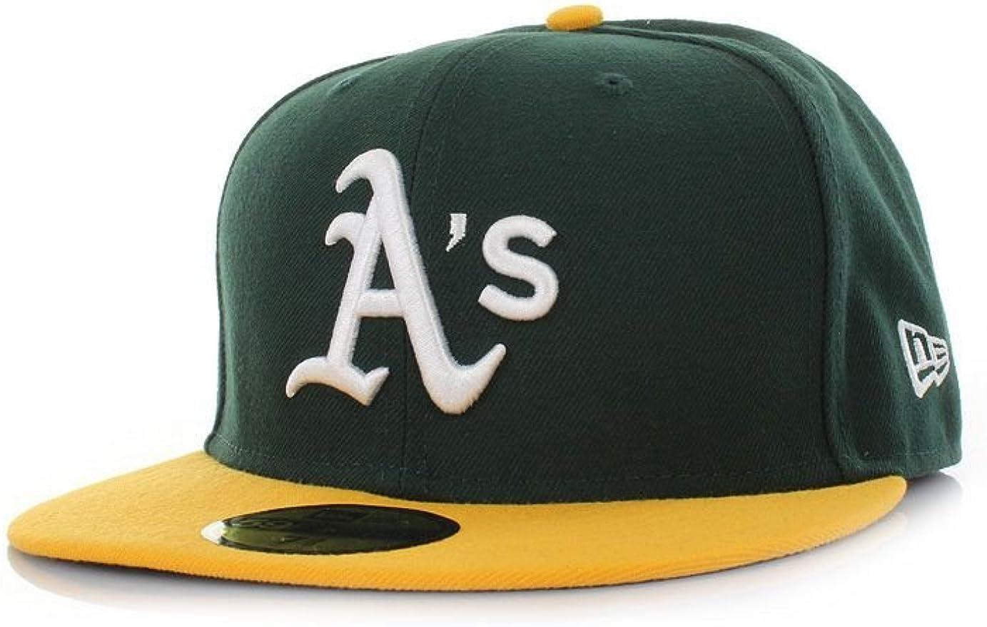 A NEW ERA 5950 Tsf Oakland Athletics Hm Gorra, Hombre: Amazon.es ...
