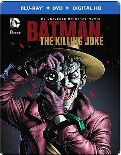 Batman: The Killing Joke - Blu-ray + DVD + Digital Copy - (Audio & Subtitles: English, Spanish & French) - IMPORT