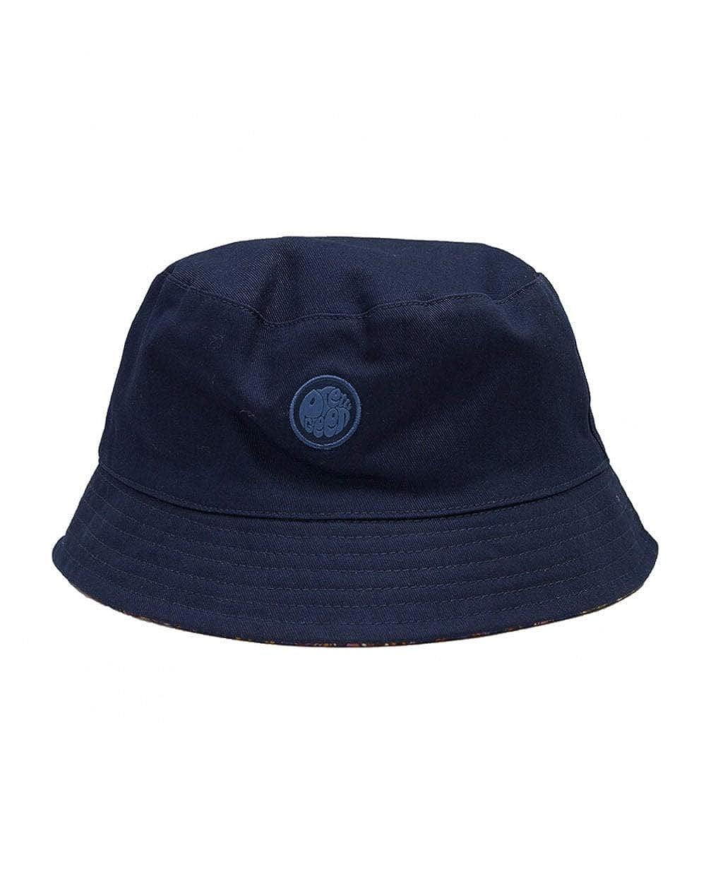 Pretty Green Reverse Paisley Bucket Hat Navy//Vintage