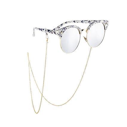 3a73111a080 Amazon.com  Unisex Non-Slip Metal Eyeglass Lanyard Glasses Chain Sunglasses  Neck Strap Eyewear Retainer Rope Holder  Home Improvement